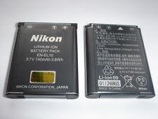 Batterie D'ORIGINE NIKON EN-EL10 GENUINE AKKU ACCU Coolpix S3000 S5100 S210 S230