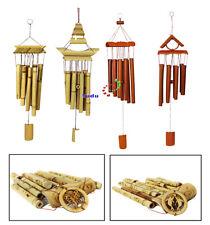 Klangspiel Windspiel Klangröhren FengShui Glücksbringer Bambus
