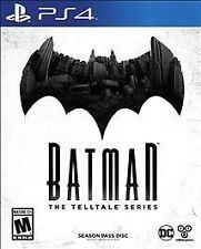 Batman: The Telltale Series -- Season Pass Disc Sony PlayStation 4, 2016 PS4 NEW