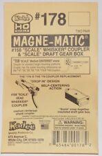 Kadee HO scale  # 178 magne-matic couplers w/ scale box