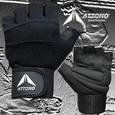 Fitnesshandschuhe mit Bandage POWER Gel Trainingshandschuhe von ATTONO®