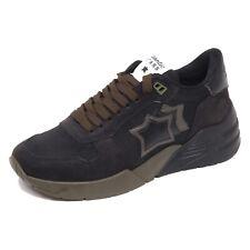 F7634 sneaker uomo black/green ATLANTIC STARS MARS scarpe shoe man