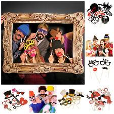 Zubehör für Photo Booth Fotobox Fotokiste Hochzeit Bilder Accessoires Requisiten