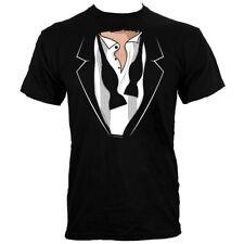 Aprire Smoking Uomo Nero T-Shirt