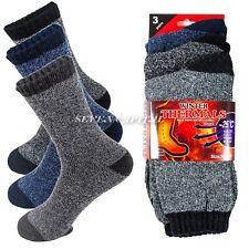Lot 1-12 Mens Winter Thermal Heated Super Warm Socks Heavy Duty Boots Sox 10-13