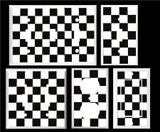 RACING CHECKERED FLAG BLACK & WHITE CHECKS  IMAGE LIGHT SWITCH COVER PLATE