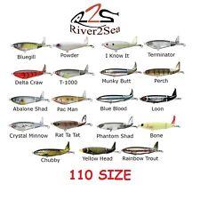 "RIVER2SEA WHOPPER PLOPPER 110, 4-3/8"" 3/4oz, NEW, CHOICE OF COLORS"