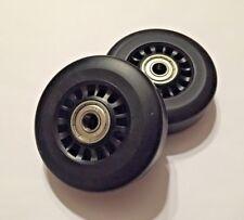 Pair Horizon Fitness Elliptical Ramp Wheel Roller
