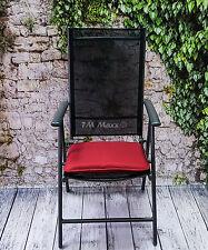 Stuhlkissen Kissen Stuhlauflage Sitzkissen Gartenkissen Softkissen Rot 42x39 cm