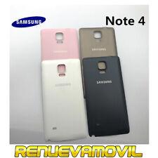 Tapa Trasera Original De Bateria Para Samsung Galaxy Note 4 N9100 Negra Blanca