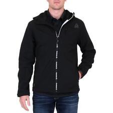 Reebok Men's Lightweight Fleece Lined Hooded Softshell Jacket
