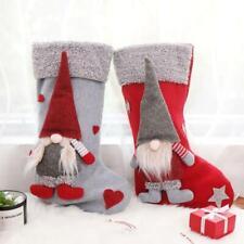 Christmas Stockings Sock Xmas Candy Gift Bag Swedish Gnome Santa Pendant Decor