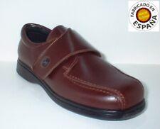 Zapato piel con velcro tallas 30,31,32,34,35,36 y 39