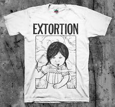 EXTORTION 'Smokin' T shirt Spazz Infest Drop Dead Hirax