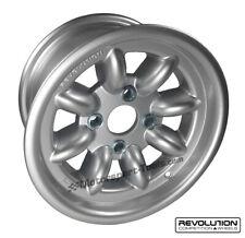 Revolución 8 habló Clásico Rally Aleación Rueda 13 X 7 Escort Mk2 STD Fit Grp4