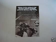 advertising Pubblicità 1976 MOTO HONDA 750 SUPER SPORT