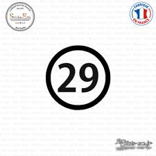 Sticker Département 29 Finistère Quimper Bretagne BZH Decal Aufkleber Pegatinas