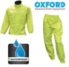 Kit Antipioggia Anti-Pioggia Pantaloni + Giacca Oxford Moto Bike Turismo Bici