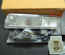 CLEAR BUMPER INDICATOR LIGHT MITSUBISHI TRITON MK UTE PICKUP L200 ANIMAL WARRIOR