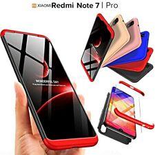 COVER per Xiaomi Redmi Note 7 / Pro CUSTODIA Fronte Retro 360° ORIGINALE ARMOR
