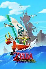 RGC Huge Poster - Legend of Zelda Wind Waker Nintendo GameCube Wii U - ZELW06