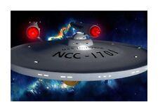 Star Trek USS Enterprise NCC 1701 A4 poster. Choice of frame.