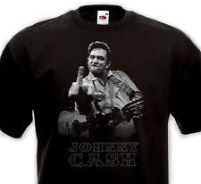 T-SHIRT JOHNNY CASH  -Country Rock'n'Roll Rockabilly Blues Western Folk SUN 50's