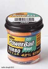 Berkley Power Bait Trout Bait Glitter Black//Orange Forellen-Teig