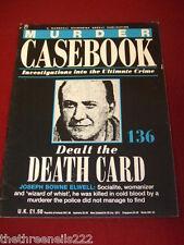 MURDER CASEBOOK #136 - Dealt the Death Card