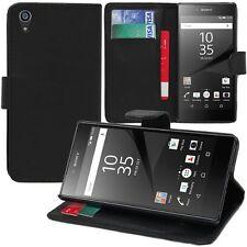 Pour Sony Xperia Z5 E6603 E6653 - Etui Housse Portefeuille Cuir