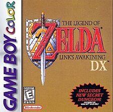 Legend of Zelda: Link's Awakening DX (Nintendo Game Boy Color, 1998)