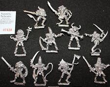 Citadel reinos del caos campeones de Slaanesh Metal Warhammer Fantasy figuras GW