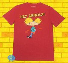 New Nickelodeon Hey Arnold Red Men's Classic Retro T-Shirt