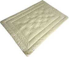 Sommer Bettdecke Merino Schafwolle aus kbT Schurwolle mit kbA Außenbezug