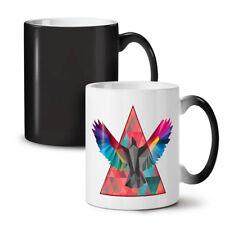 Geometric Bird Fashion NEW Colour Changing Tea Coffee Mug 11 oz   Wellcoda
