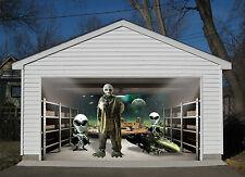 3D Alien UFO 299 Garage Door Murals Wall Print Decal Wall Deco AJ WALLPAPER IE