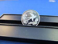 2008-S Silver Quarter OKLAHOMA Deep Cameo Mirror Proof Upper Grading Range