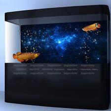 Star Dust Galaxy Aquarium Background Poster Fish Tank Landscape Decoration