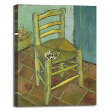 Van Gogh sedia di Vincent design quadro stampa tela dipinto telaio arredo casa