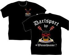 Dartshirt Dart T-Shirt Flights Darthemd Turnier Dartsport Bekleidung Trikot 38