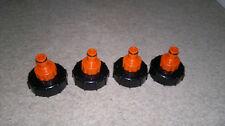 4x Tap hose connectors for IBC Diameter -60mm