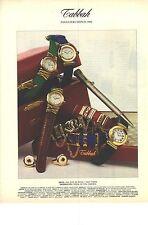 PUBLICITE ADVERTISING 1994   TABBAH montres joaillerie horlogerie de luxe