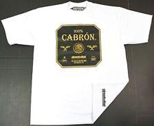 STREETWISE 100% CABRON T-shirt Urban Streetwear Tee Adult L-4XL White New