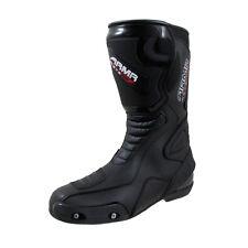 Armr-Moto Montegi 2 Motorcycle Motorbike Bike Waterproof Race Boot Black T