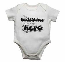Mi Padrino es mi héroe-Bebé Chalecos monos bebé crece Estampado Gráfico