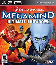 BRAND NEW Sealed Megamind: Ultimate Showdown (Sony PlayStation 3, 2010)