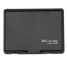 JJC BLACK LCH-2.5B Universal LCD Hood for 2.5 inch LCD Screen Display Camera