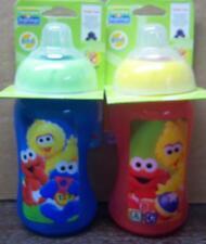 Sesame Street Beginnings 10oz Soft Spout Cup, Cookie Monster, Elmo, Big Bird