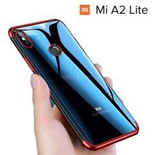 COVER per Xiaomi Mi A2 Lite CUSTODIA ORIGINALE ELECTROPLATING Slim Morbida TPU