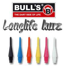 BULL'S Dart Spitzen LONGLIFE KURZ - Stückzahl & Farbe wählbar, versandkostenfrei